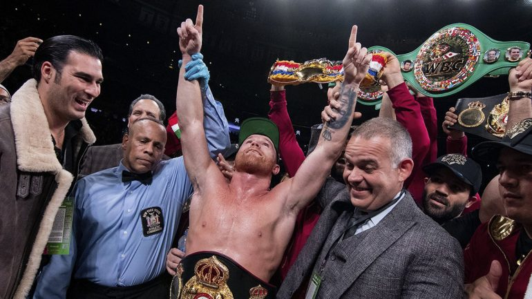 Canelo Comes to Madison Square Garden