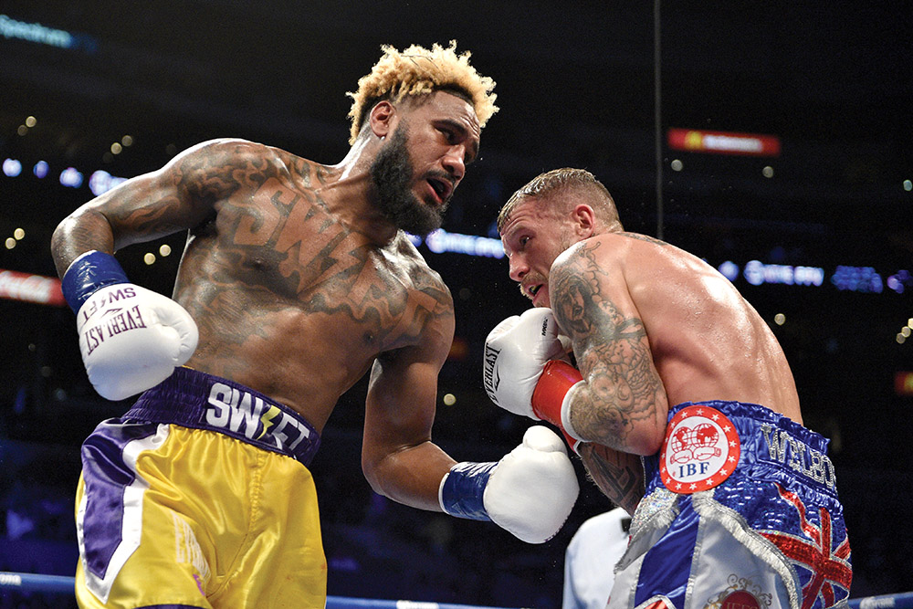 GettyImages 1067378072 - Jarrett Hurd to defend 154-pound titles against Julian Williams on May 11