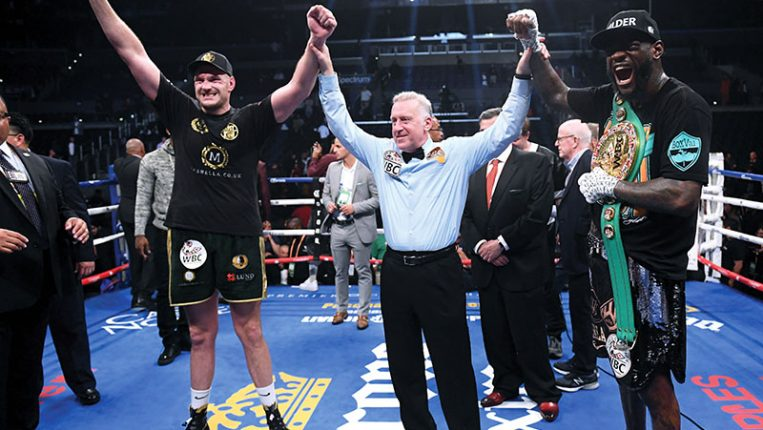 Draw of the Century Wilder-Fury had it all ... except a winner By Gareth A Davies