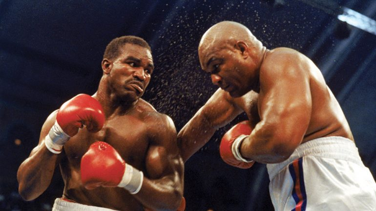 Fat, Funny and 42, but certainly no fraud: Foreman gives Holyfield a fight…and the world a thrill