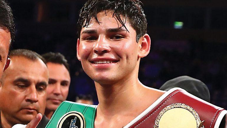 Ryan Garcia accepts WBC lightweight title eliminator against Luke Campbell
