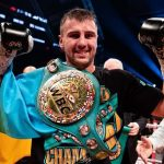Oleksandr Gvozdyk won the WBC light heavyweight title in his 16th pro fight. Photo by Amanda Westcott/Showtime