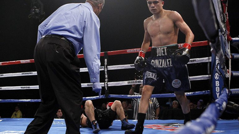 Joet Gonzalez says there's bad blood with Shakur Stevenson over family diss