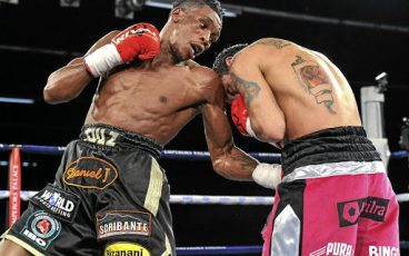A rising welterweight targets America