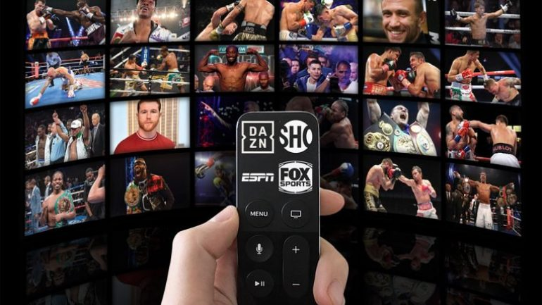 Fistianados commentary: boxing's entry into the streaming universe