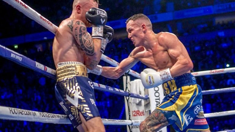 Josh Warrington, The Ring's No. 1 featherweight, wants the biggest challenges