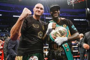 Lineal heavyweight champion Tyson Fury (left) and WBC heavyweight titlist Deontay Wilder. Photo by Esther Lin-SHOWTIME