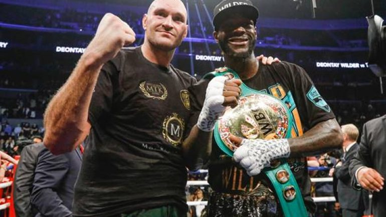 Deontay Wilder, Tyson Fury will take interim fights before revisiting rematch