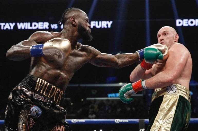 Deontay Wilder vs  Tyson Fury tracking at over 300,00 pay