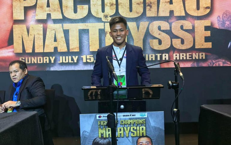 jhack tepora training through holidays for vegas debut on pacquiao