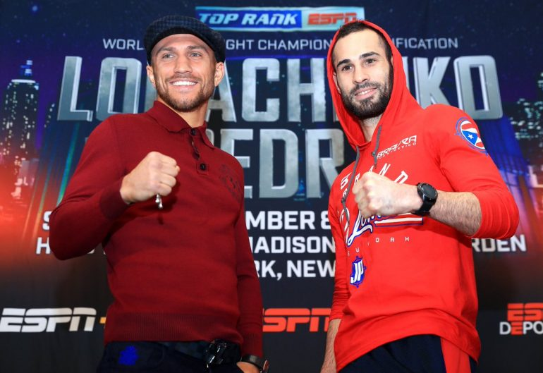 Top Rank on ESPN: Lomachenko vs. Pedraza Picks