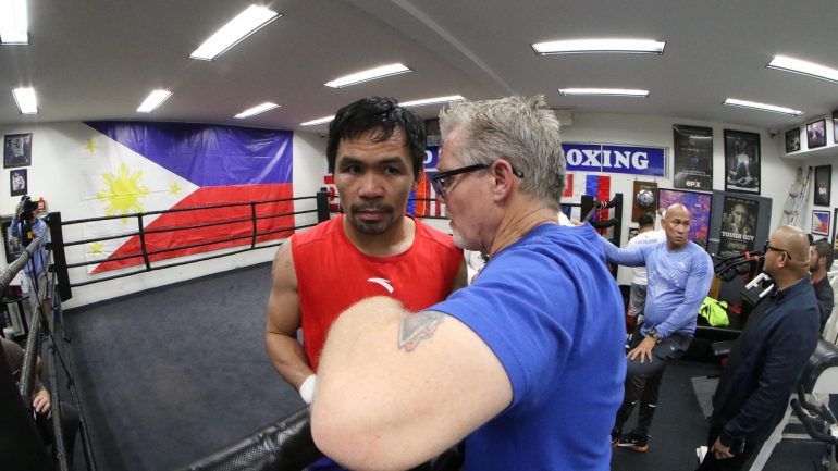 PHOTOS: Manny Pacquiao returns to Wild Card to complete Broner training camp
