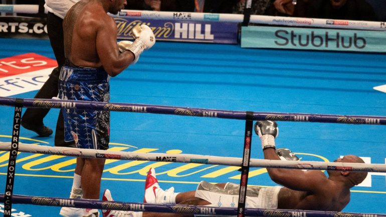 Dillian Whyte closes Dereck Chisora rivalry with 11th round KO