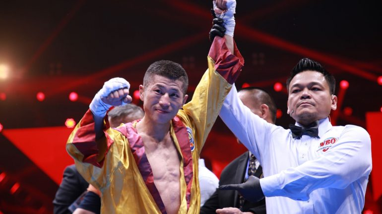 Wenfeng Ge hasn't let hearing, speech disabilities stop his boxing dream