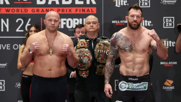 Bellator 214: Heavyweight GOAT Fedor Emelianenko prepares to take his final walk against Ryan Bader