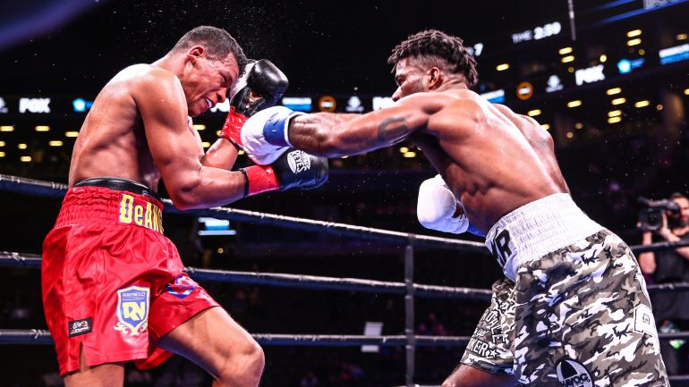 Thurman-Lopez undercard: Chordale Booker remains unbeaten with decision win