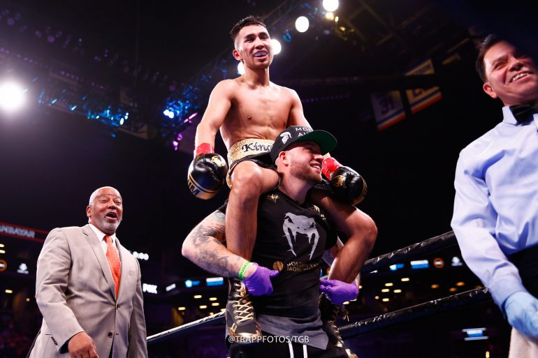 Tugstsogt Nyambayar a hit in Brooklyn; earns WBC featherweight title shot -  The Ring