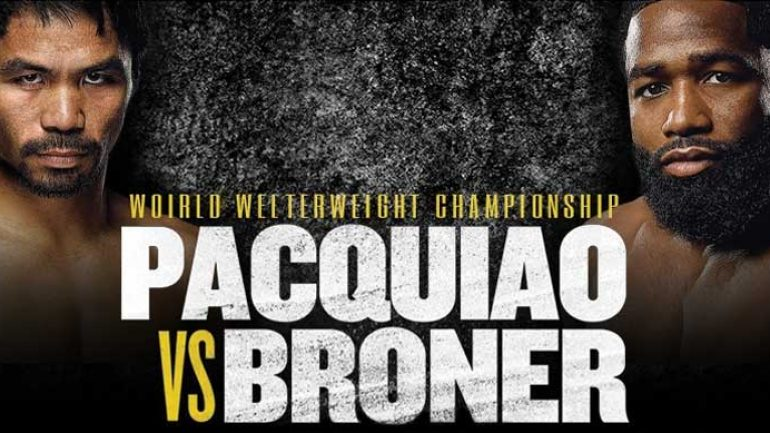 The Travelin' Man goes to Manny Pacquiao vs. Adrien Broner: Part One