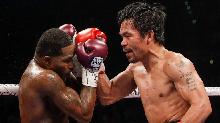 Manny Pacquiao outhustles Adrien Broner over 12 rounds in first U.S. fight in over two years