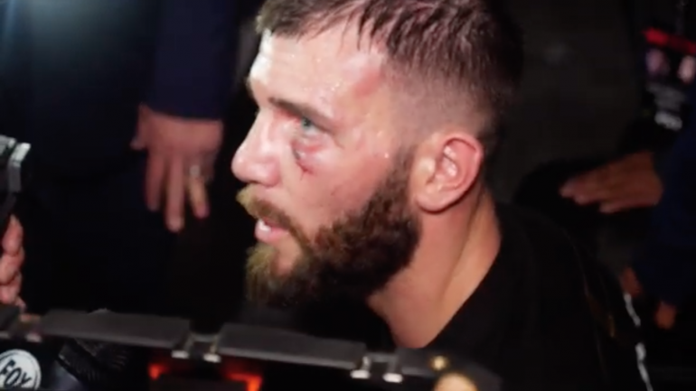 Caleb Plant after winning super middleweight title: I'm going to Disneyland!