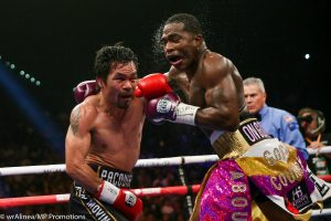 manny pacquiao adrien broner 2 300x200 - Pacquiao too much for Broner, but Mayweather rematch remains elusive as ever