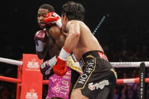 pacbroner1 300x200 - Photos: Manny Pacquiao defeats Adrien Broner by unanimous decision