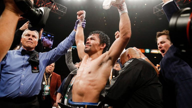 Dougie's Friday mailbag (Manny Pacquiao, Adrien Broner, welterweight rankings)