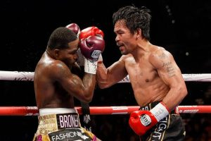 pacbroner8 300x200 - Photos: Manny Pacquiao defeats Adrien Broner by unanimous decision