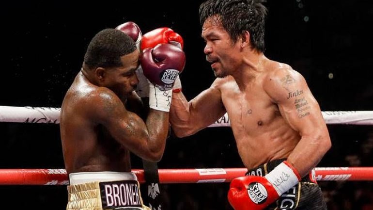 Photos: Manny Pacquiao defeats Adrien Broner by unanimous decision