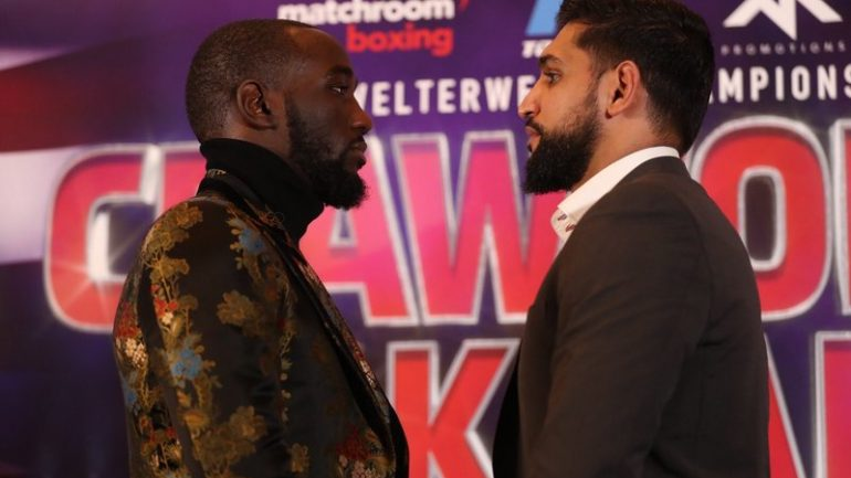 Terence Crawford-Amir Khan officially announced for April 20, New York or Las Vegas to host