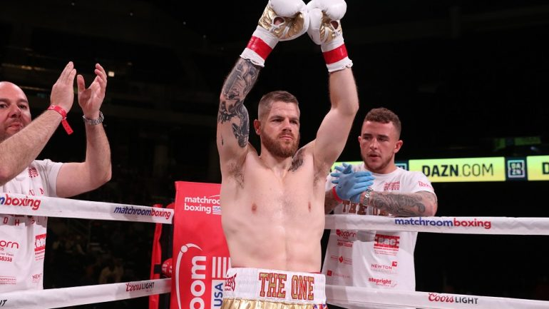 Callum Johnson-Sean Monaghan set for March 9 at the Turning Stone