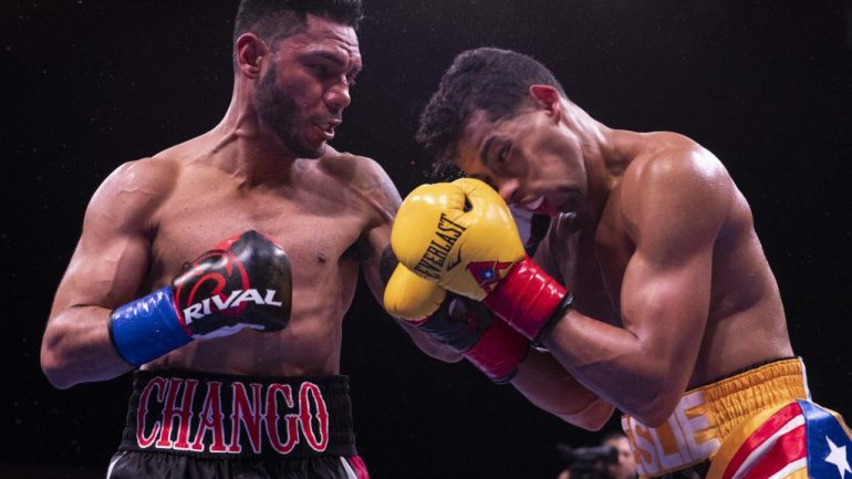 Andrew Cancio pulls off major upset in Indio, knocks out Alberto Machado in 4 rounds