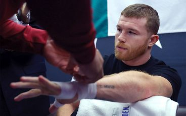 The inner sanctum: Canelo on fight night
