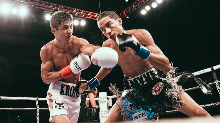 Shojahon Ergashev wins decision over difficult Mykal Fox on ShoBox