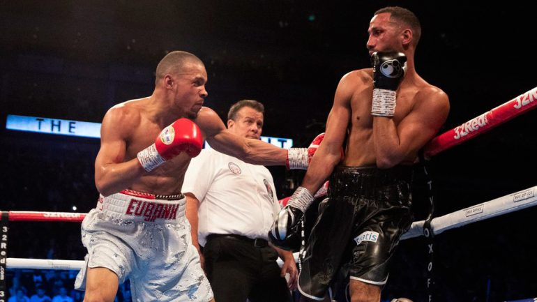 Chris Eubank Jr. clearly outpoints James DeGale in untidy UK showdown