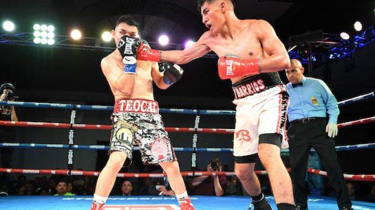 Press release: Luis Fernando Saavedra upsets Mario Hernandez in 'New Blood' main event