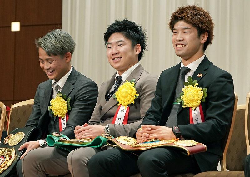 (From left to right) Hiroto Kyoguchi, Ken Shiro and Kosei Tanaka. Photo credit: Naoki Fukuda