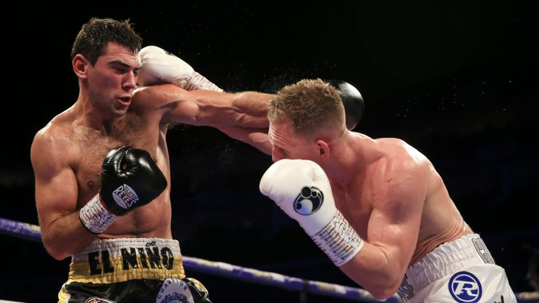 Sergio Garcia outworks and outclasses game Ted Cheeseman, defends European 154-pound title