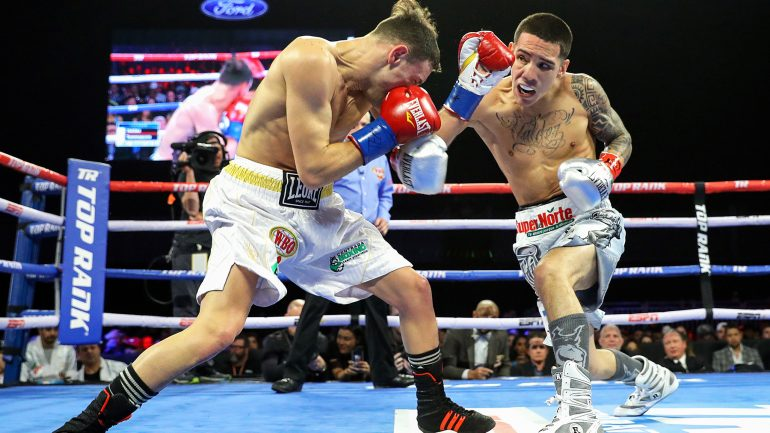 Oscar Valdez: 'My WBO belt is going back to Mexico with me!'