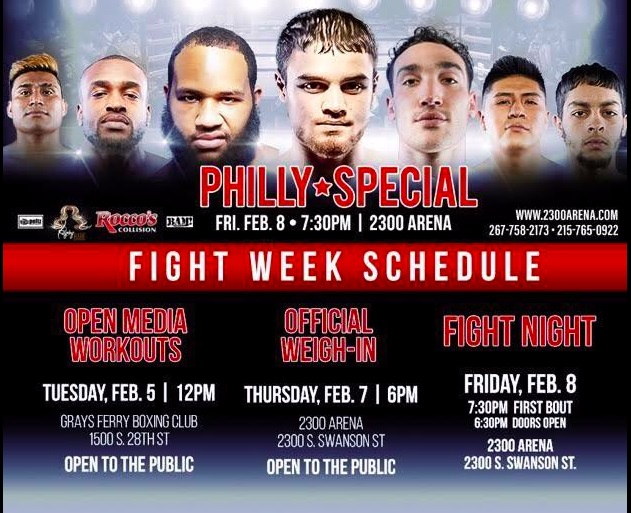 Philly Special card - DREAMer Alejandro Jimenez fights Friday in Philly