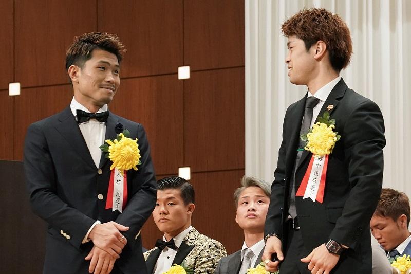 Sho Kimura (left) and Kosei Tanaka. Photo credit: Naoki Fukuda