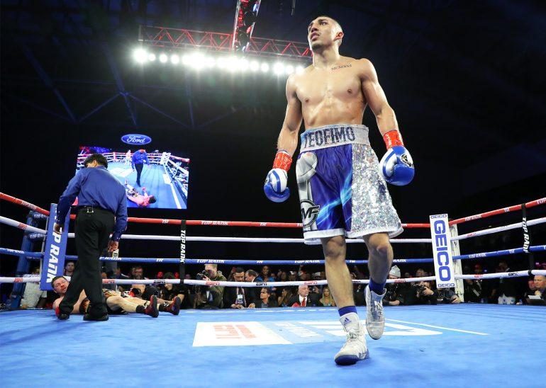 Teofimo Lopez explains latest post-fight 'celebration' - The