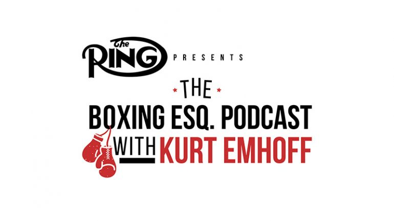 The Boxing Esq. Podcast, Ep. 32: Kevin Cunningham