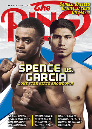 april2019 cover 308x432 - Roman Martinez: 'I believe I can do more things in boxing. I will try to be a world champion at 135 pounds'