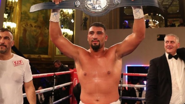 Agit Kabayel: 'In the next couple of years nobody can ignore me. I want to be world champion'