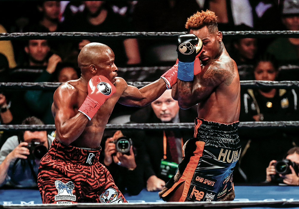 harrison charloGettyImages 1085892688 - Tony Harrison and Jermell Charlo renew ties for WBC 154-pound rematch and there's no love lost
