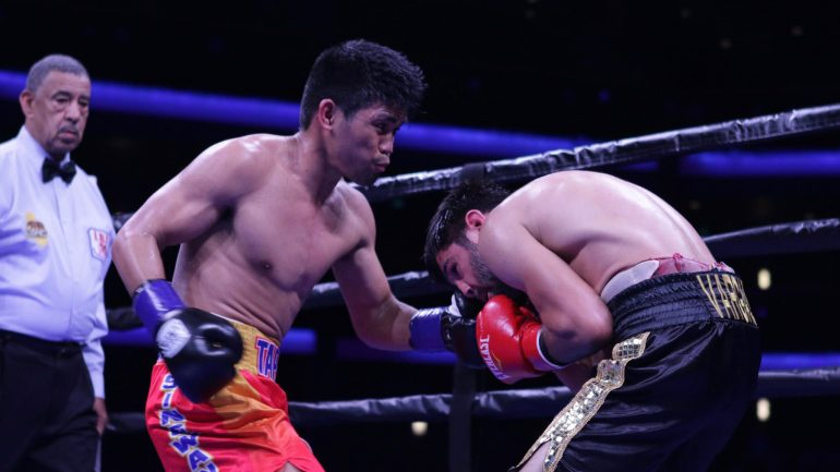 Marlon Tapales shakes off ring rust, scores KO win in LA
