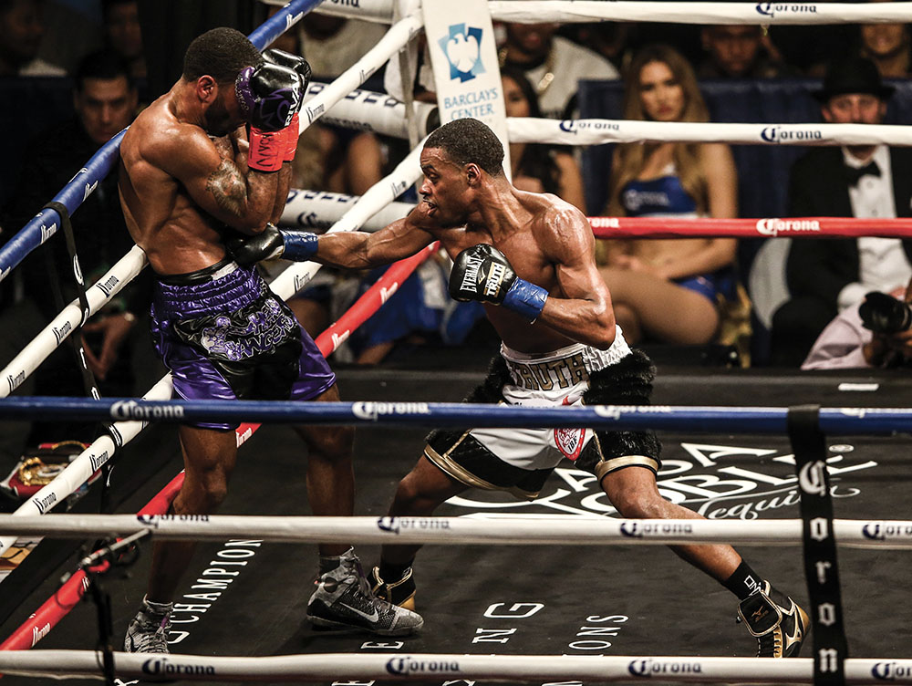 spence peterson GettyImages 908508288 - Errol Spence Jr.-Mikey Garcia: Daring to be great