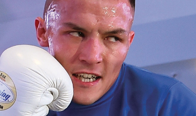 The Art of Warrington Long-underrated featherweight Josh Warrington finally had his breakout year By Tom Gray