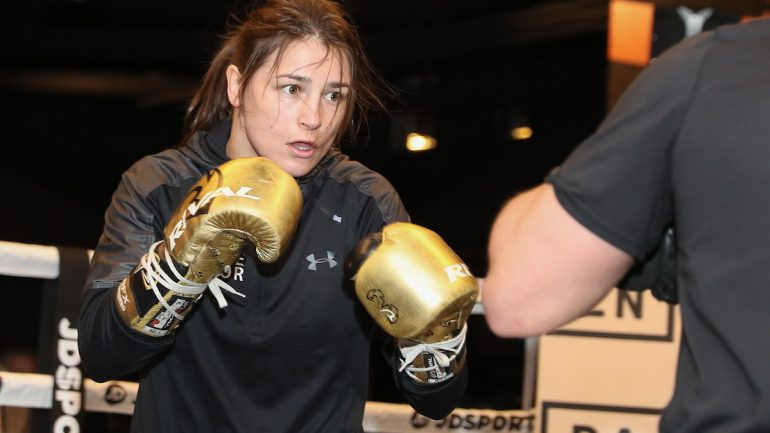 Katie Taylor, out to annex third lightweight belt, has even bigger goals on horizon